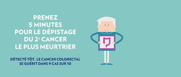 Illustration dépistage du cancer colorectal